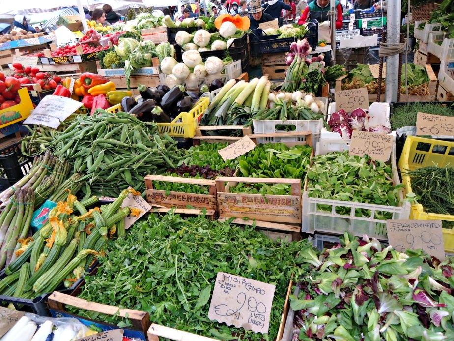 d8a38f9c3558a Campo dei Fiori Market Vegetables